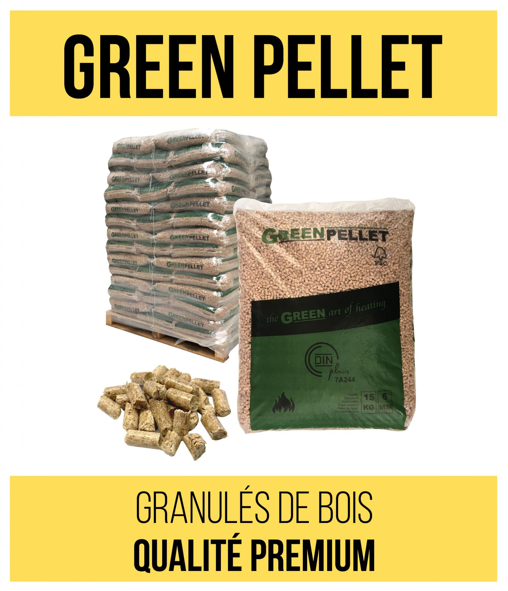 Articles comple mentaires green pellet