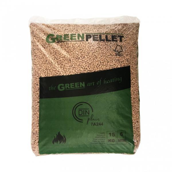 Pellets green pellet 3 1