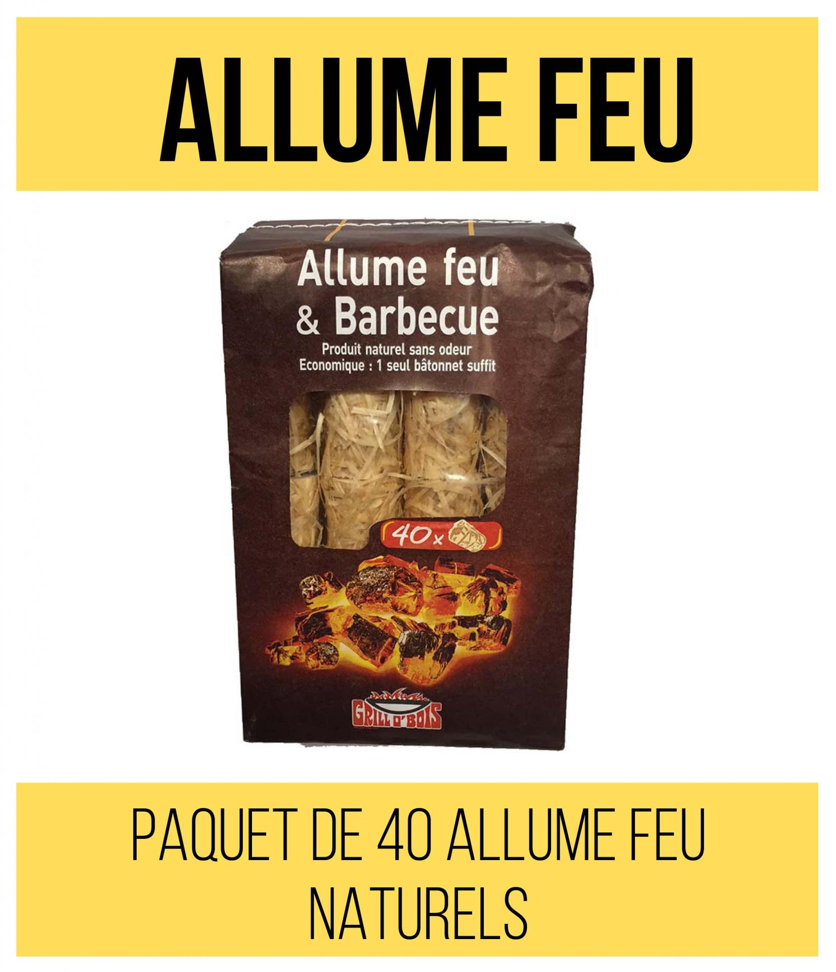 Articles complementaires allume feu
